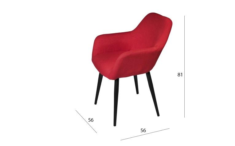 Стул Ламбер (красный)